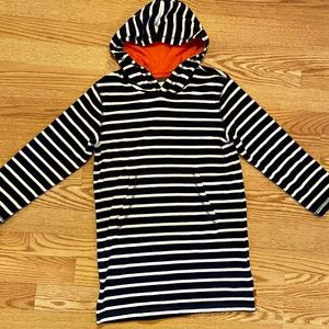Mini Boden toweling hoodie 8/9Y